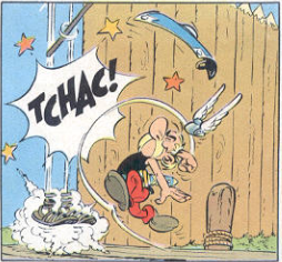 Soothsayer Asterix strikes guard
