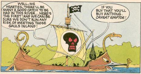 caveat emptor asterix pirate