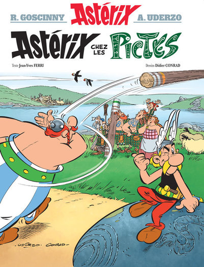 asterix and the picts french cover