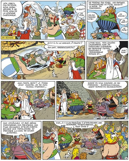 pict frozen in ice asterix