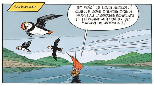 low flying puffins asterix