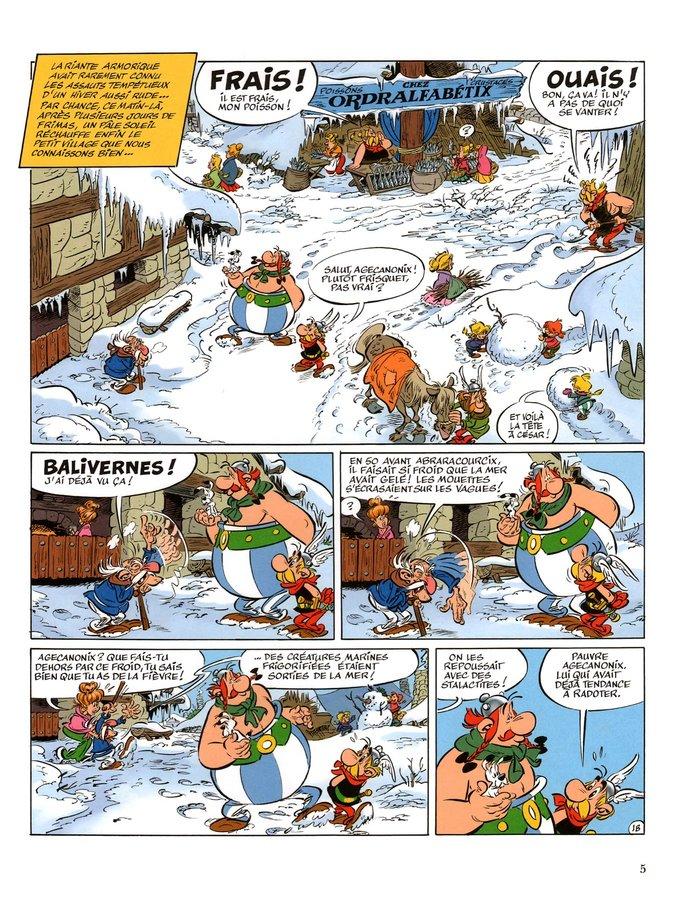 asterix fishmonger blacksmith