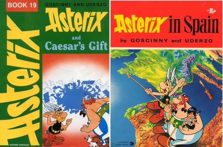 Asterix Spain Caesars Gift Covers