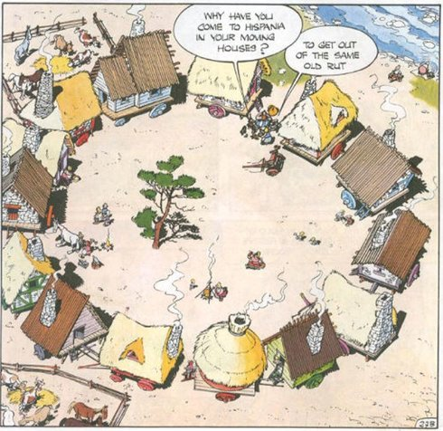 asterix in spain joke about tourist