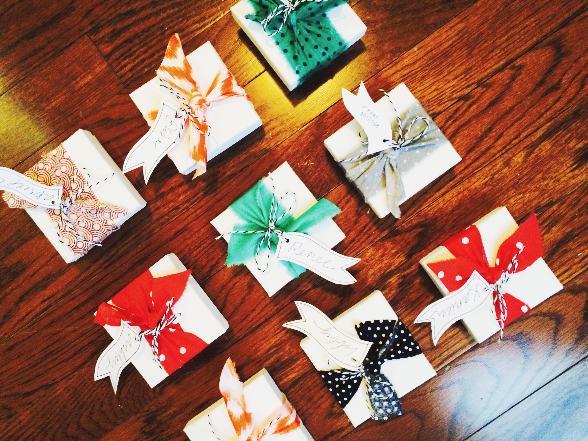 Holiday Gift Packaging for Handmade Jewelry