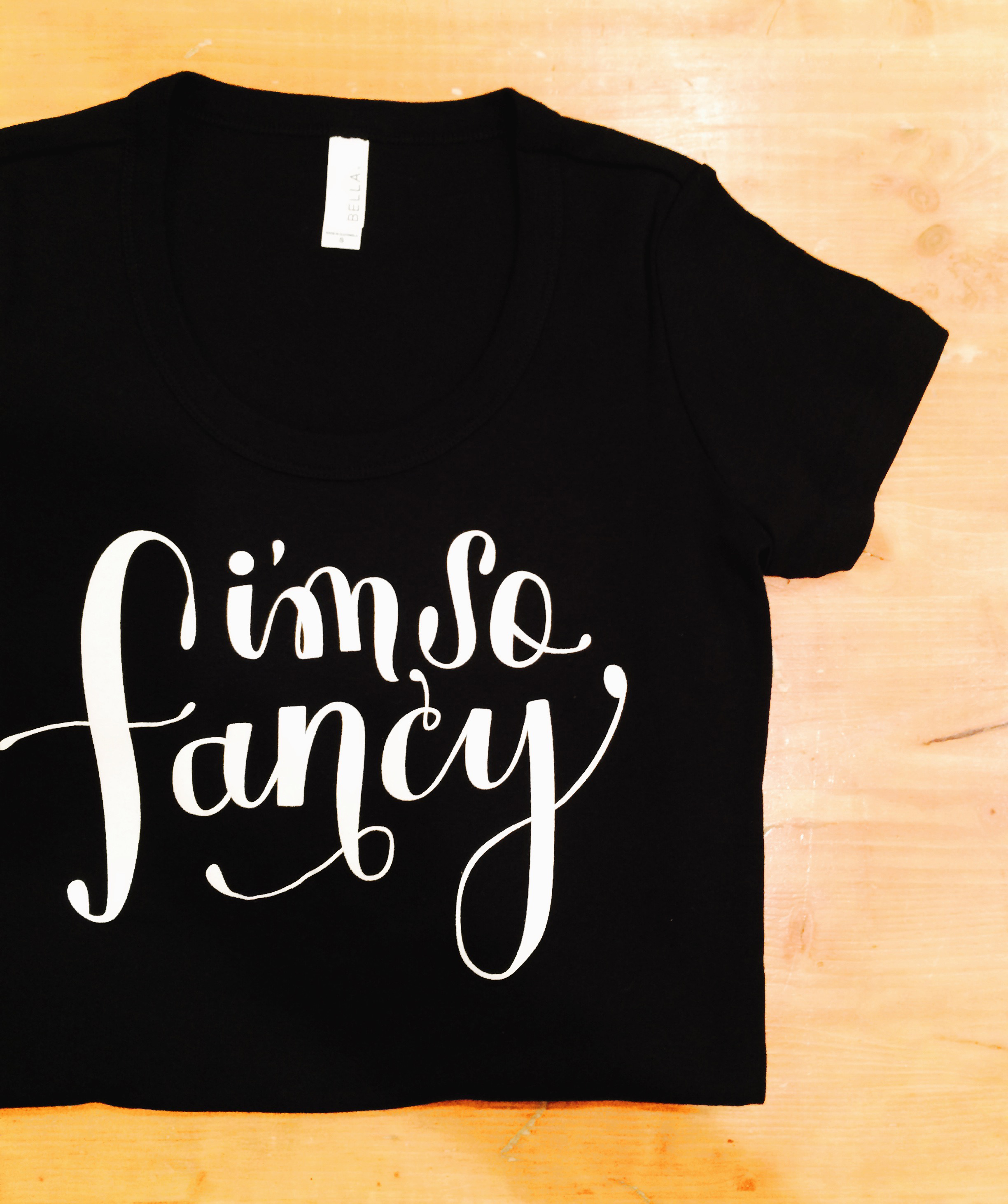 Hand-Lettered Screen printed T-Shirt