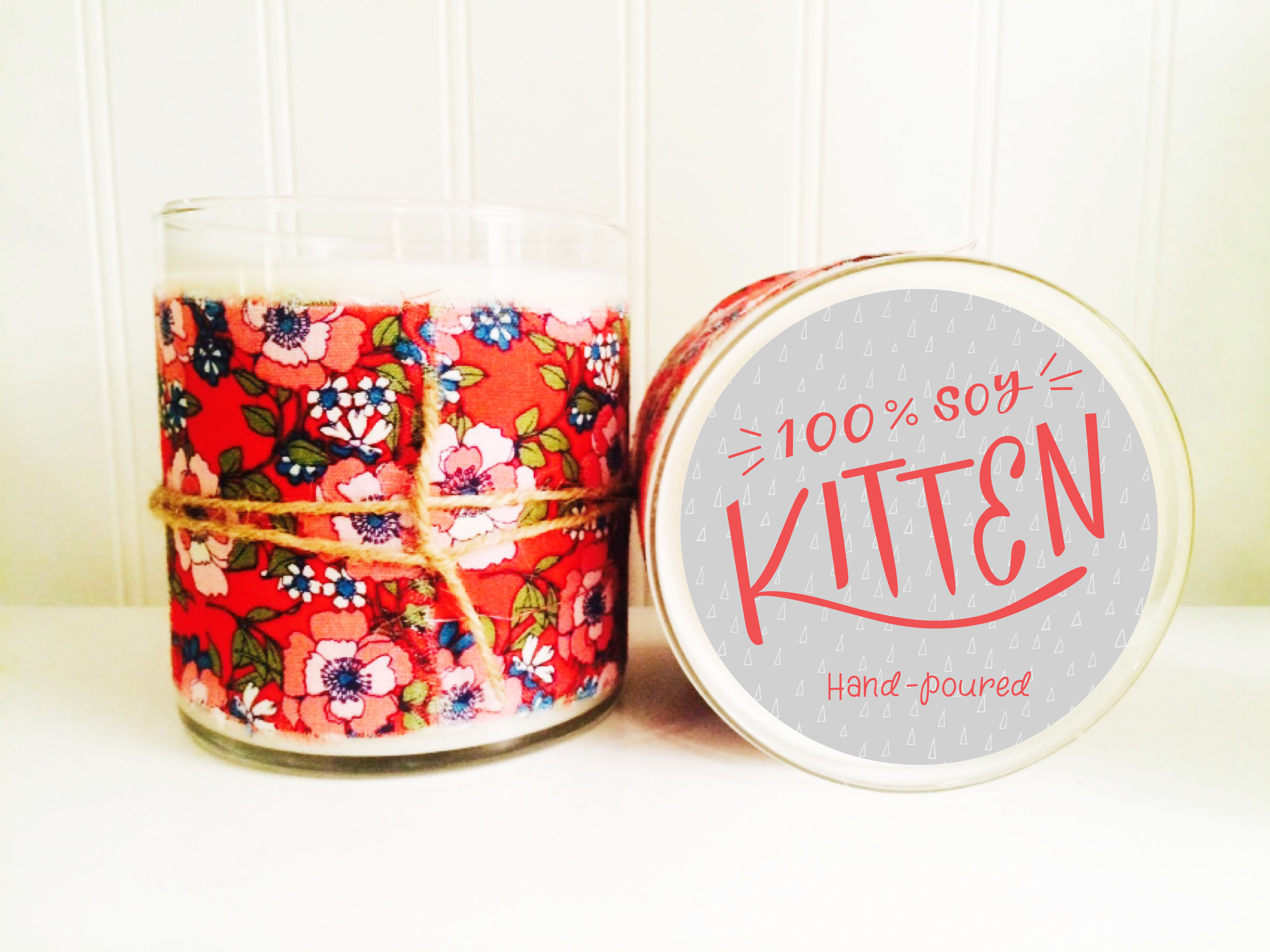 HAND POURED SOY CANDLE LABEL DESIGN ( AVAILABLE HERE )