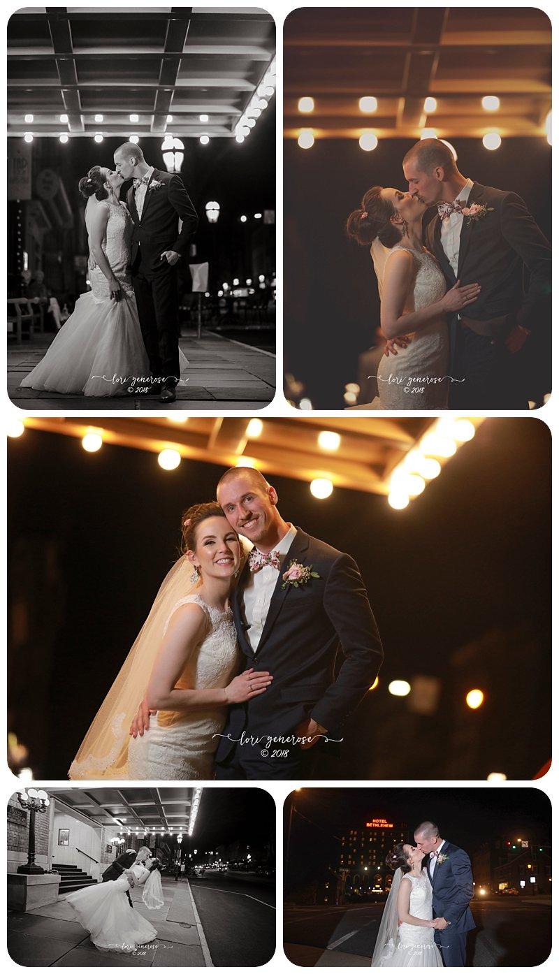 weddingbrideandgroomnighttimecolonialdistricthistorichotelbethlehempaweddingvenue.JPG