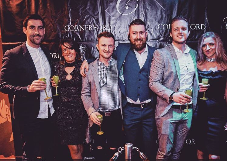 Team Cornerford with Founder Dovy Cornerford