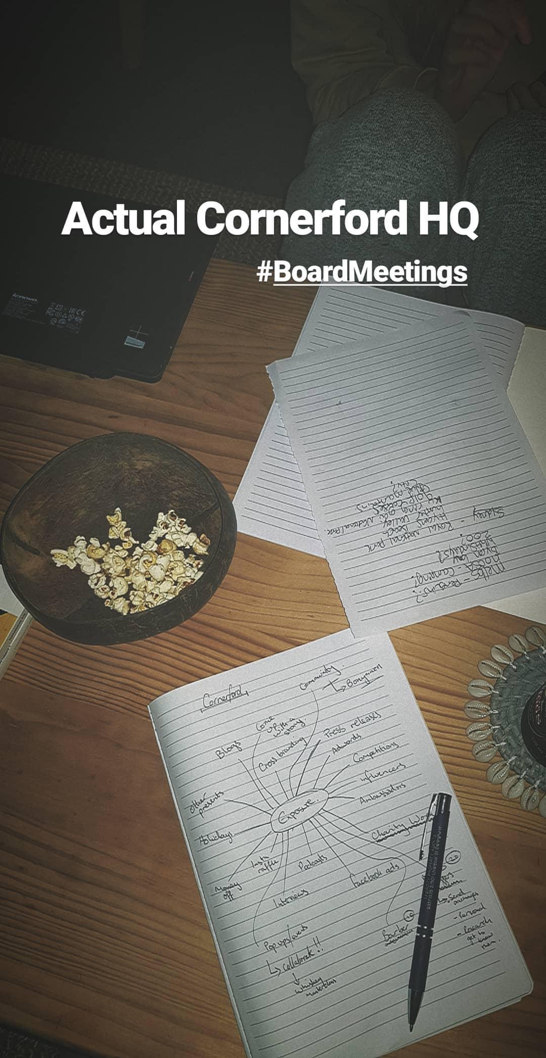 Cornerford Meetings