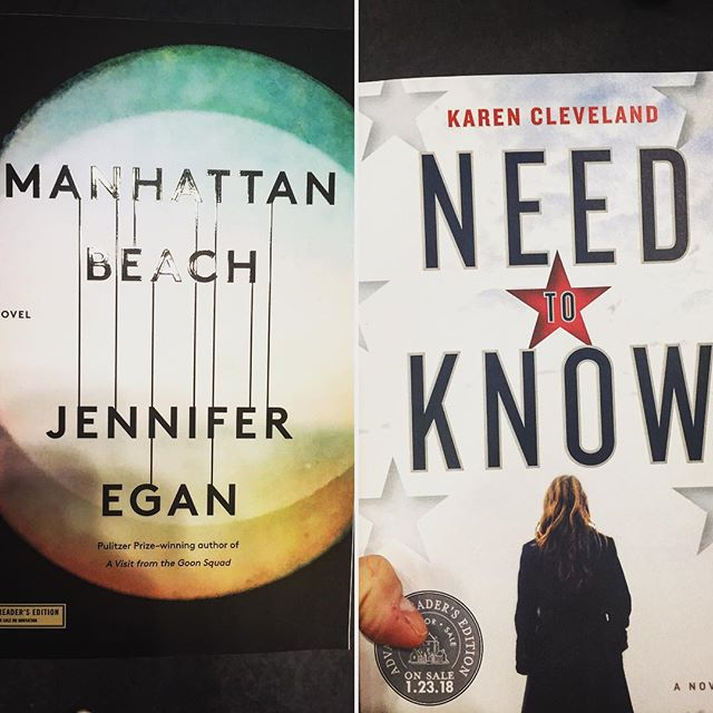Two we are excited about #bookexpo #bookstagram
