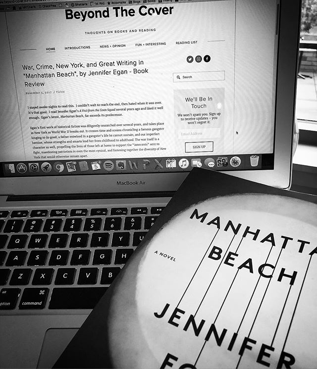 Just posted our latest review of #jenniferegan #historicalfiction #manhattanbeach  Five stars!  www.beyond-cover.com.  #books. @scribnerbooks @simonandschuster