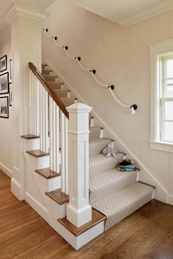 rope-deck-railing-Staircase-Beach-with-carpet-runner-carpeted-staircase.jpg