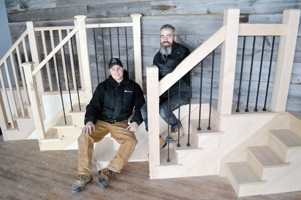 Stairhaus Inc. Owners: Matt & Dylan