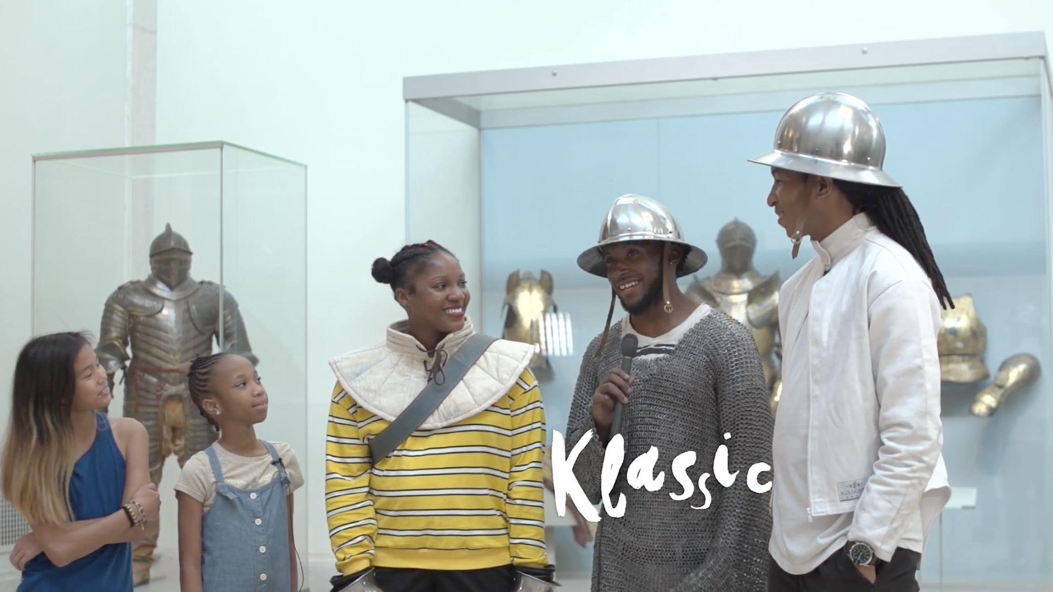 #MetKIDS interview It's showtime NYC dancers about their performance and how it feels to dance in armor. Click to watch full video