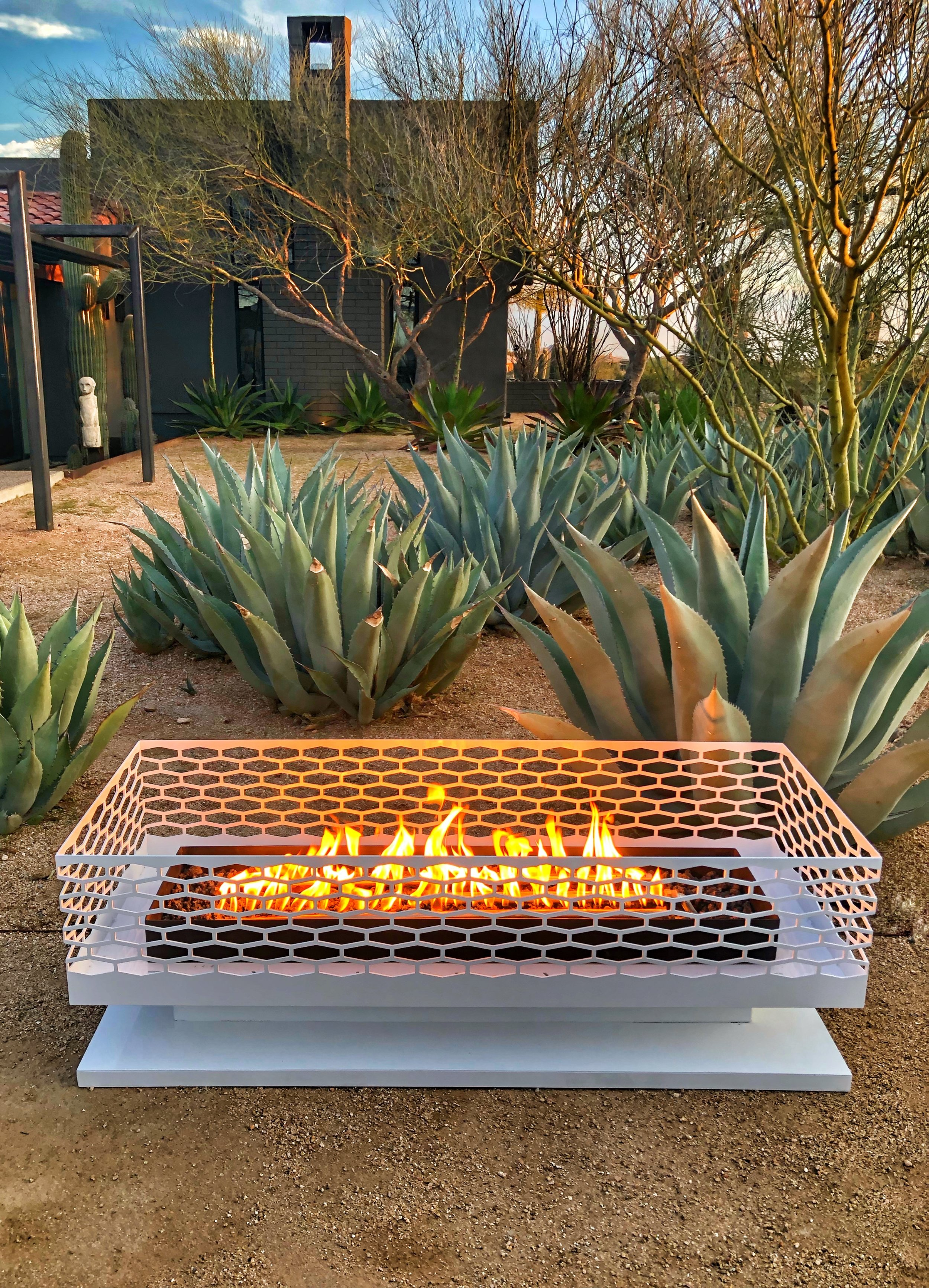 Modfire Modern Outdoor Fireplaces