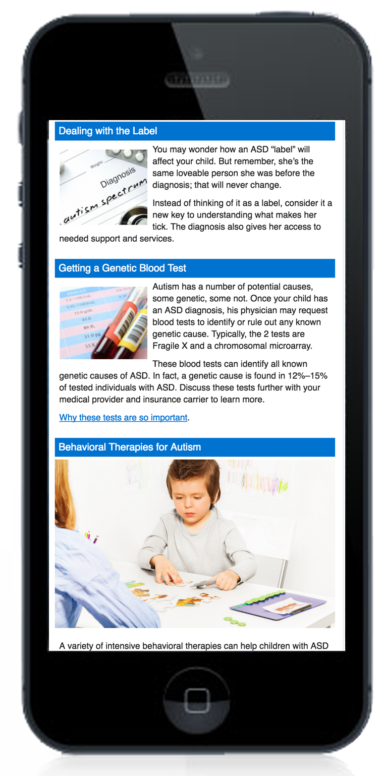 UbiCare's SmarteXp engagement solution supports families of a child with autism
