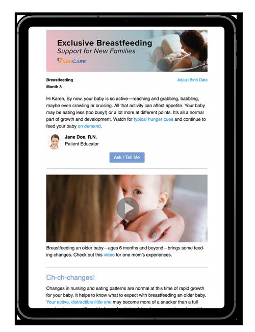 Exclusive Breastfeeding Patient Series