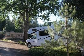 Bring your own RV Self-contained RV parking with hook-ups.