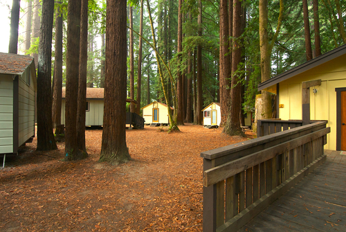 Cabins - Great for couples and solo travelers alike. Cabins comfortably sleep 2-4 people and come with linens and blankets.Weekend rate: $200 per person for 2, $175 per person for 3-4
