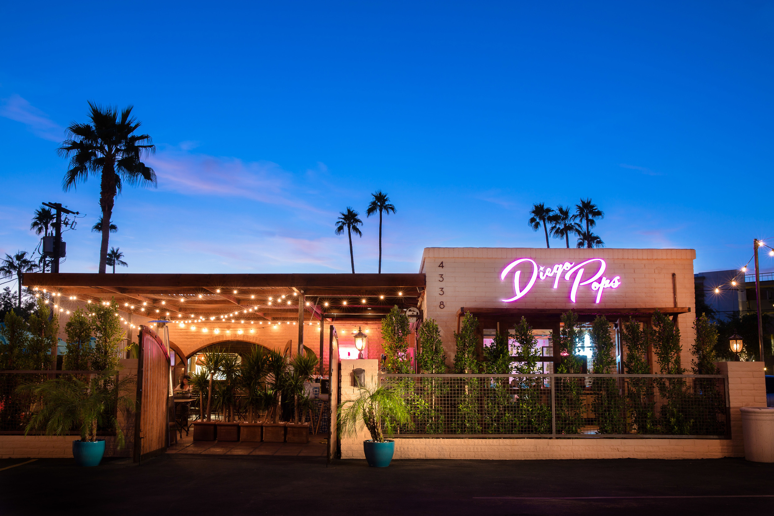 Diego Pops Mexican Restaurant In Old Town Scottsdale