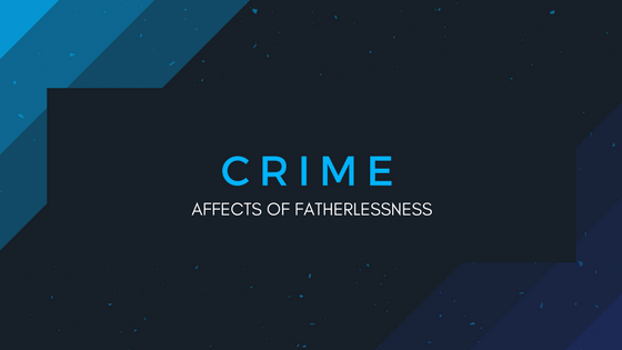 """85% of youths in prisons grew up in a fatherless home.""  –  U. S.  D.H.H.S. Bureau of the Census    ""80% of rapists motivated with displaced anger come from fatherless homes.""   -  Criminal Justice & Behavior, Vol. 14"
