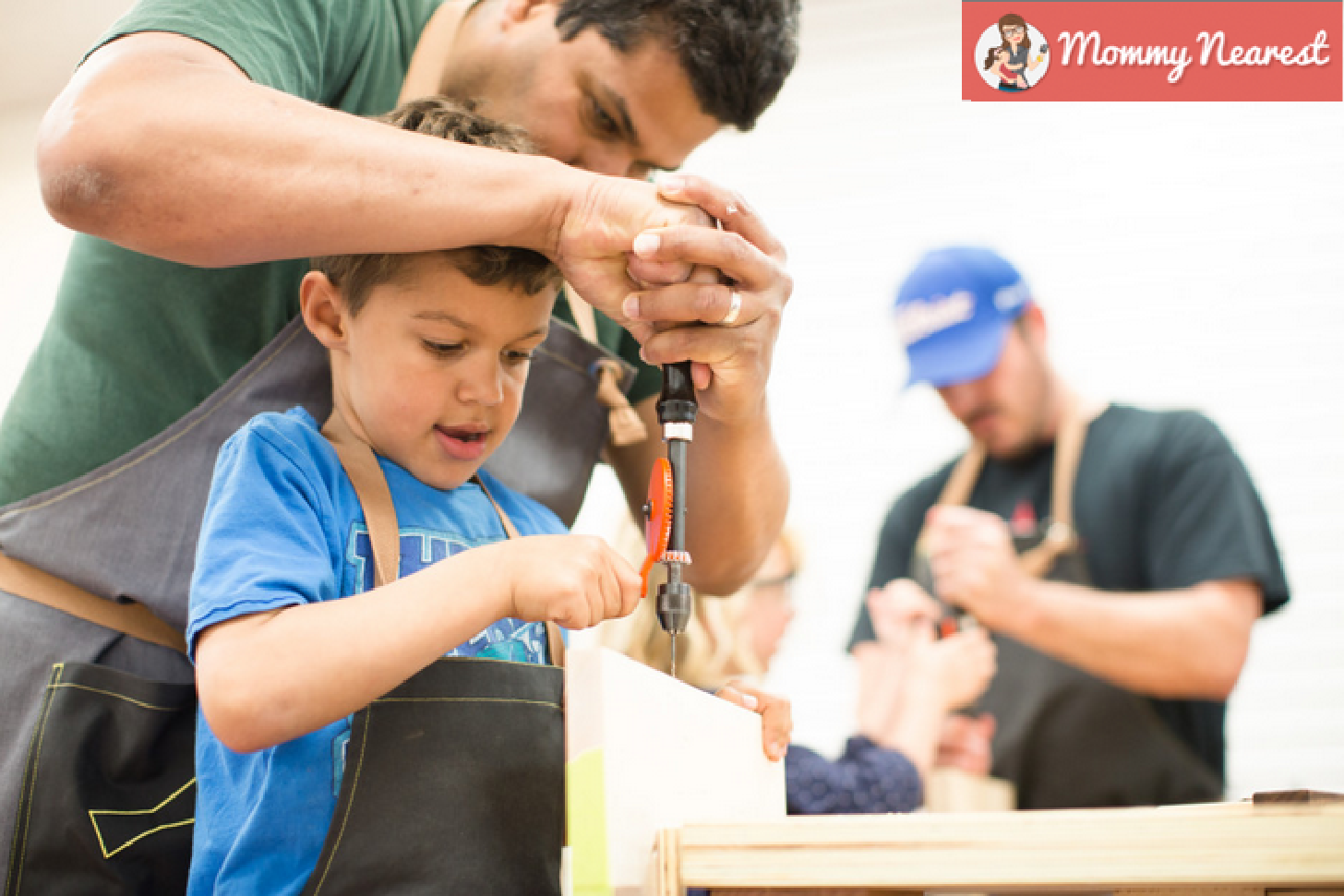 6 Great Tinkering Spaces in the Bay Area for Creative Kids  (Mommy Nearest, July 2015)