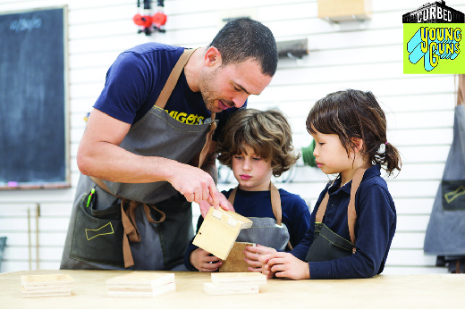 In Danny Montoya's San Francisco Woodshop, Kids Learn Tools for Life (Curbed, Nov. 2015)