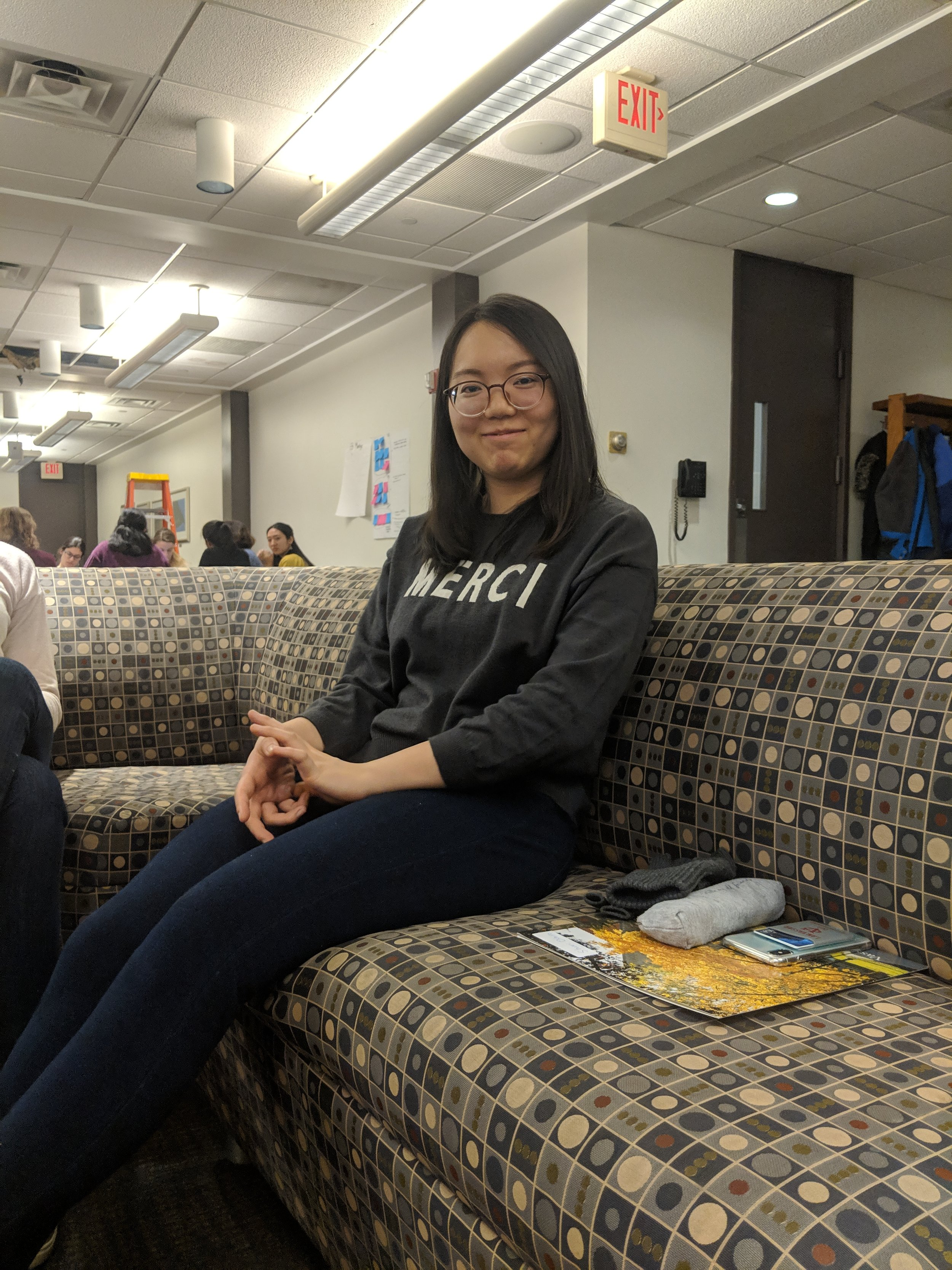 Shuri Oshiro '22, One of the Student Trippers this year