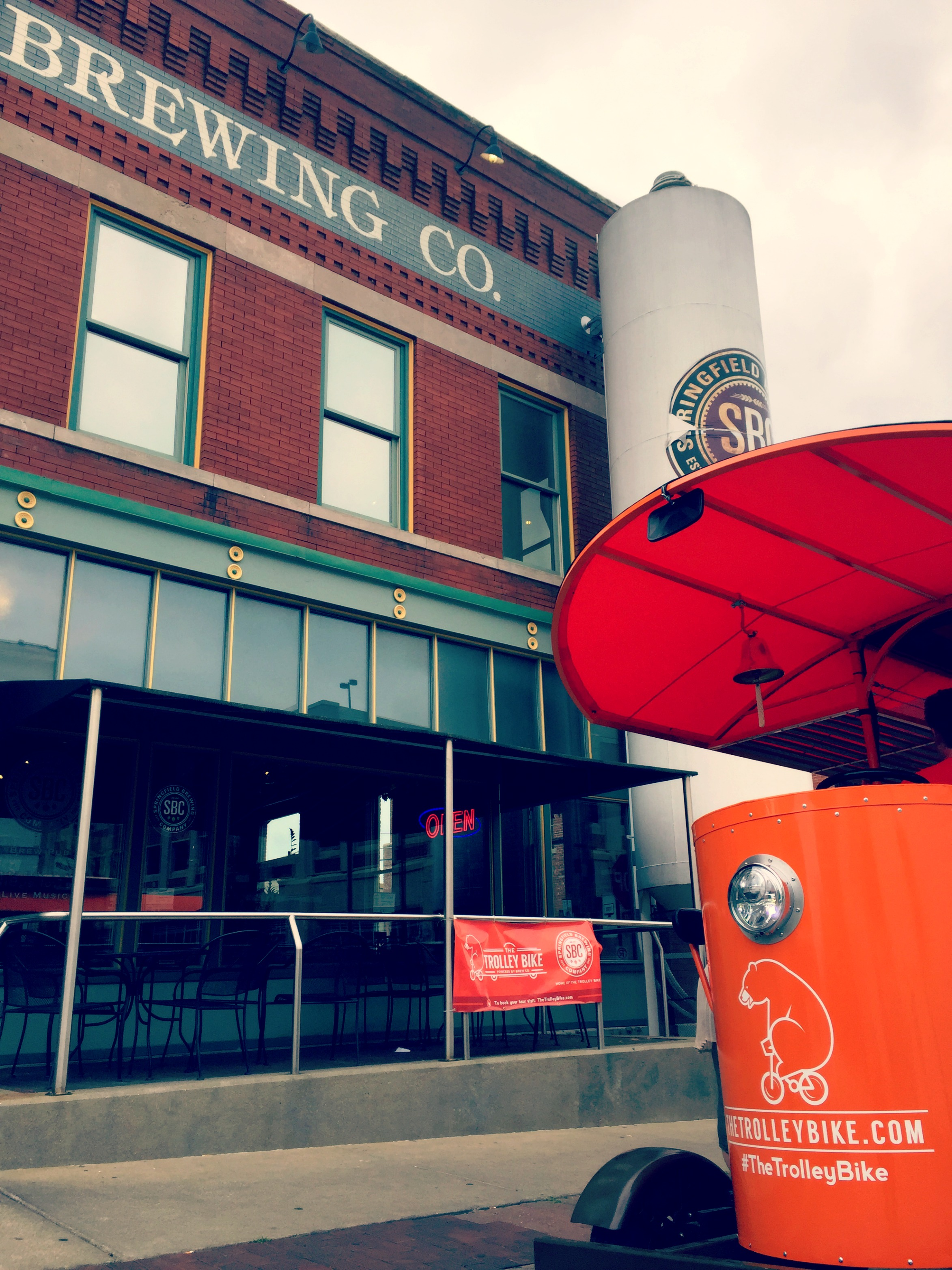 Springfield Brewing Company is your pick up spot!