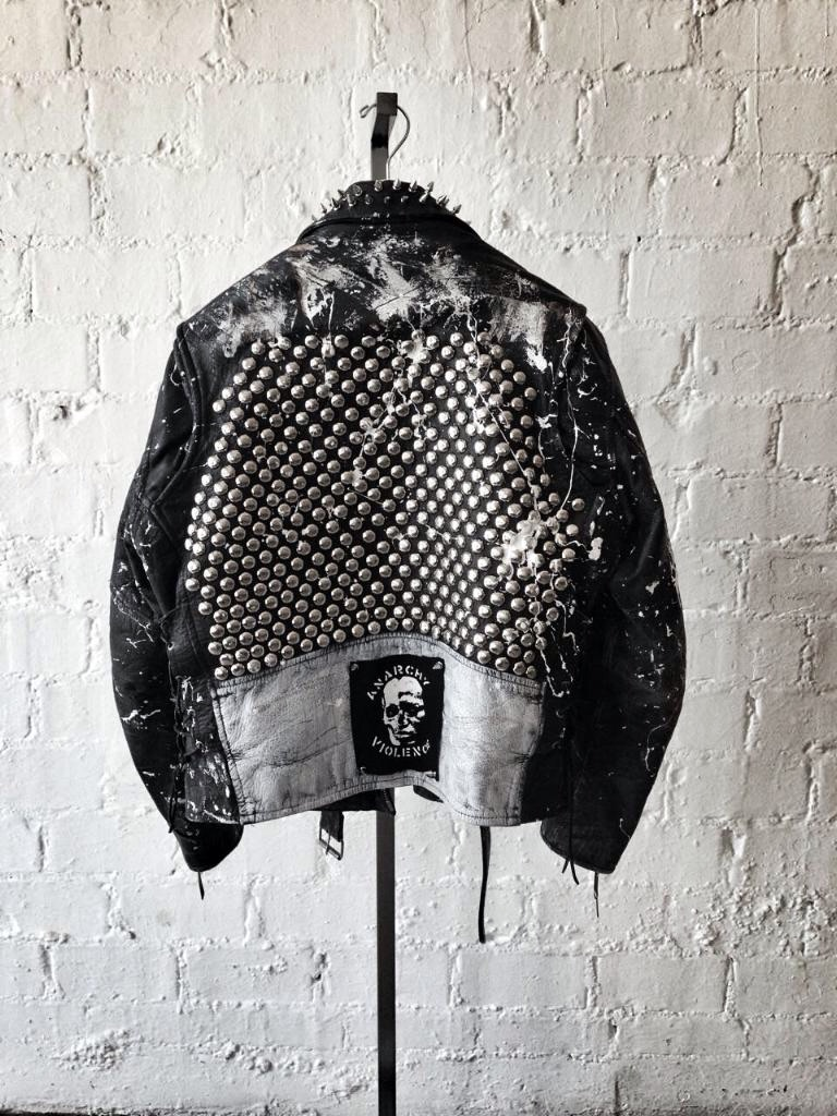 KillAll Battle jacket made by yours truly. Only available in store at Factory413 (413 south Fairfax avenue)