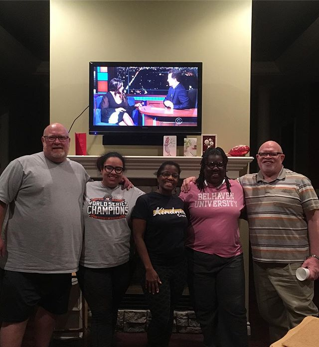 """Enjoying my friends from L.I.V. It Encounter -Living In Victory  Miniseries. Pastor Leila Eaton - biography coming soon """"To Be Anchored""""."""