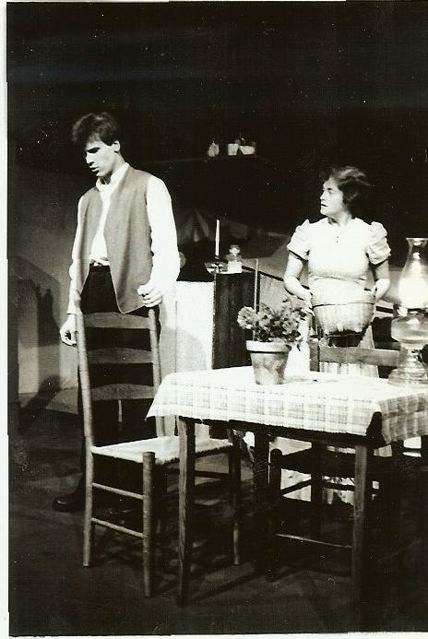 Ethan Frome    Loeb Ex Theatre   with Jamie Haines   directed by Bill Rauch   photo credit:  (unknown)