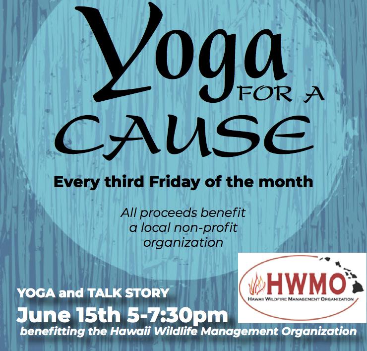 Yoga For A Cause - HWMO