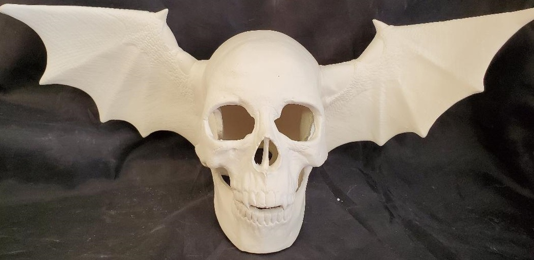 Avenge Sevenfold: Nowell 0750 Skull with Doc Holiday 1999: B Wign Attachments