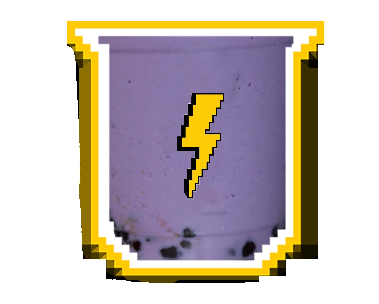 purple rain - taro milk tea