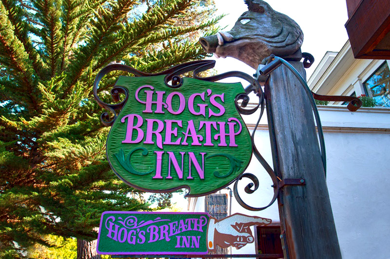 HOG'S BREATH INN SAN CARLOS BETWEEN 5TH & 6TH (831) 625-1044 •  WEBSITE