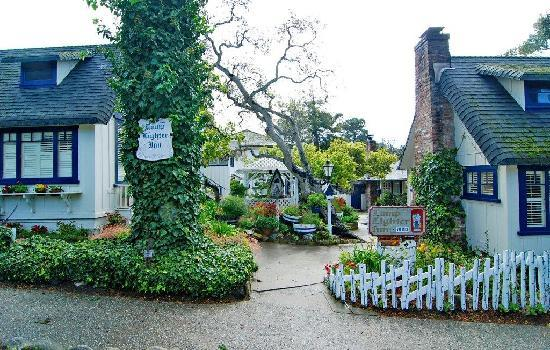 Lamplighter Inn  Ocean & Camino Real (831) 624-7372 • (888) 375-0770 •  website   Carmel Lamp Lighter Inn is tucked into an ancient grove of trees and just steps to the famous Carmel Beach. The lush garden setting of this Carmel, Coastal Inn is enchanting....