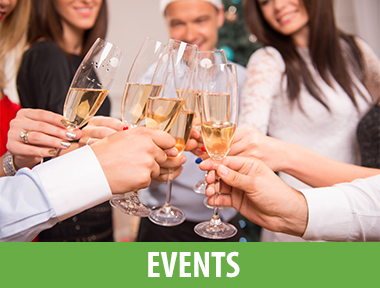 Holiday Tree Lighting & Carmel Plaza Holiday Open House  December 1, 2017 3:00pm-7:00pm Ocean Avenue & Mission Street   Christmas on the Wharf  December 1-17, 2017 Fisherman's Wharf Association Monterey   Wine Flight Wednesday  December 1-27, 2017 5:00pm Estéban Restaurant Monterey   Courtside Bistro's 1st & 3rd Fridays  December 1, 15, 2017 6:00pm-8:00pm Chamisal Tennis and Fitness Club Corral de Tierra   19th Annual Cowboy Poetry & Music Festival  December 2, 2017 7:30pm Golden State Theatre Monterey   James Beard Foundation Celebrity Chef Tour  December 2, 2017 6:00pm Carmel Valley Ranch   19th Annual Inns of Distinction Tour  December 3, 2017 2:00pm-5:00pm Various locations Carmel   Chef Duel - Round 4  December 4, 2017 6:00pm-9:00pm Folktale Winery Carmel Valley   Trivia Night!  December 4, 2017 (recurring Monday) 7:00pm Sovino Wine Bar & Merchant Monterey   Carmel Art Walk  December 9, 2017 5:00pm-8:00pm Downtown Carmel-by-the-Sea   First Night Monterey  December 31, 2017 3:00pm-12:00am Downtown Monterey   New Year's Eve Sleepover  December 31, 2017 6:00pm-8:30am Monterey Bay Aquarium