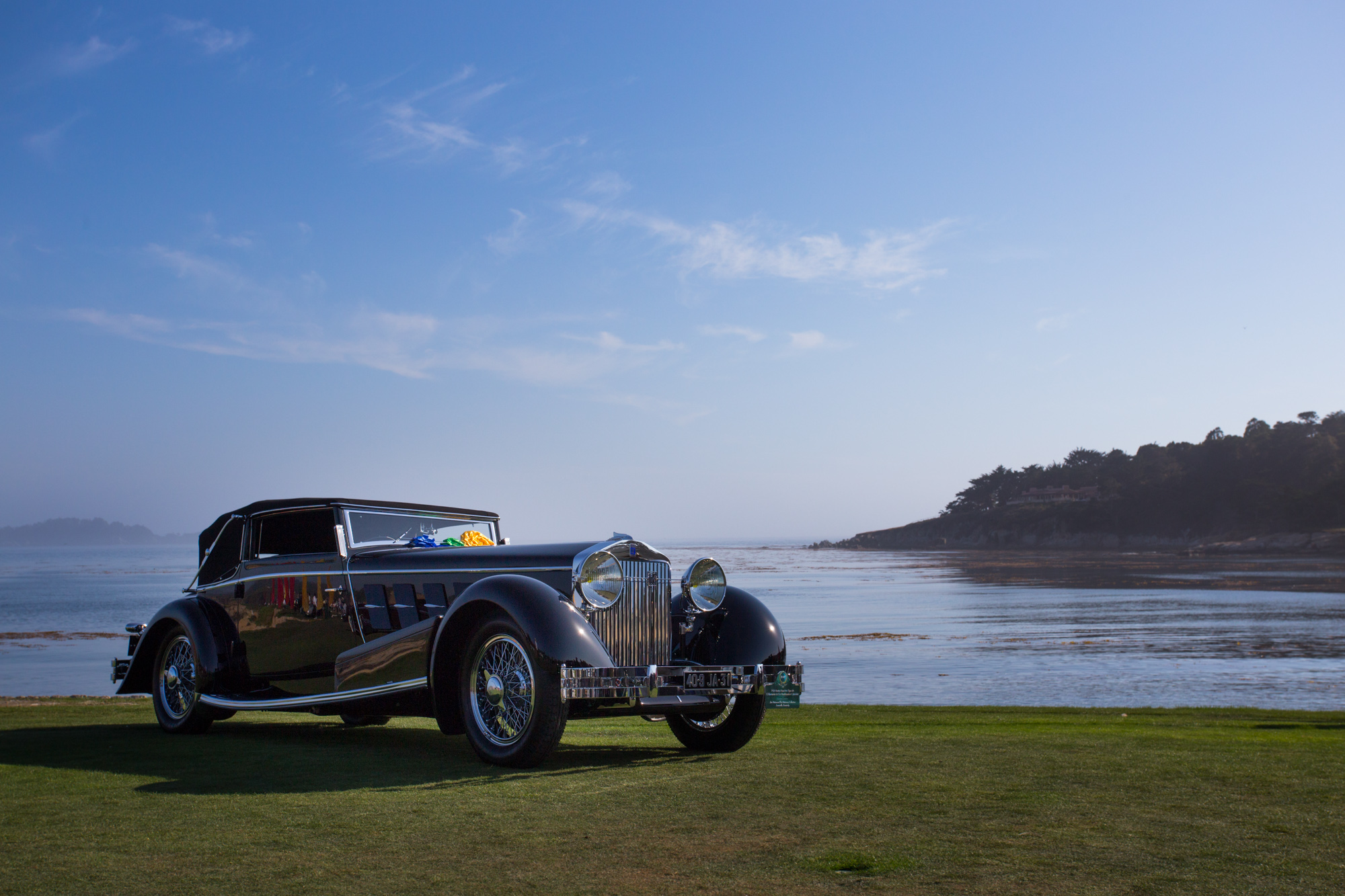 Car Week on The Monterey Peninsula - List of Events including Pebble Beach Concours d'Elegance, auctions, races and car shows