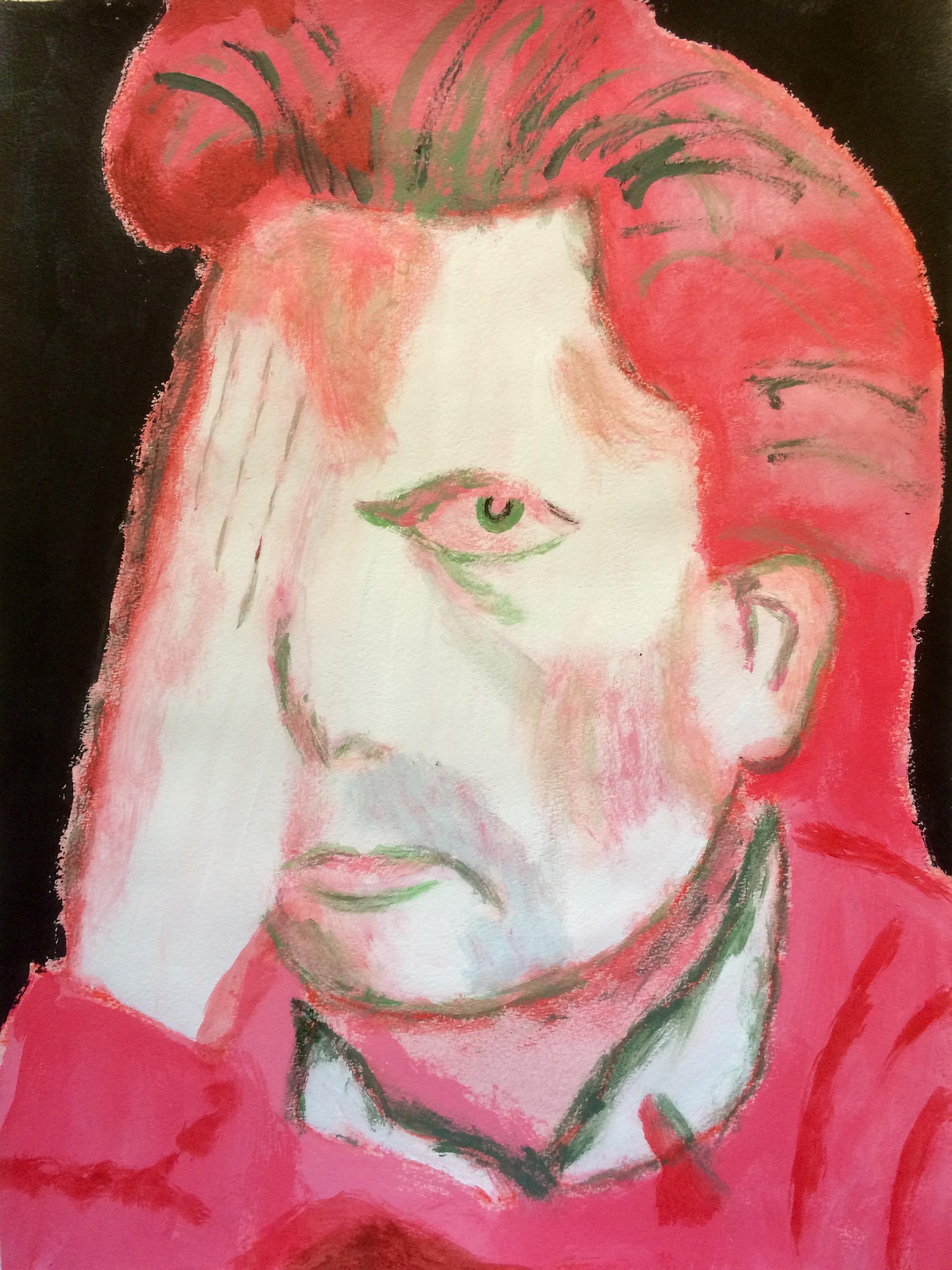 """""""Fifties Eye Test""""  Acrylic 24x18"""