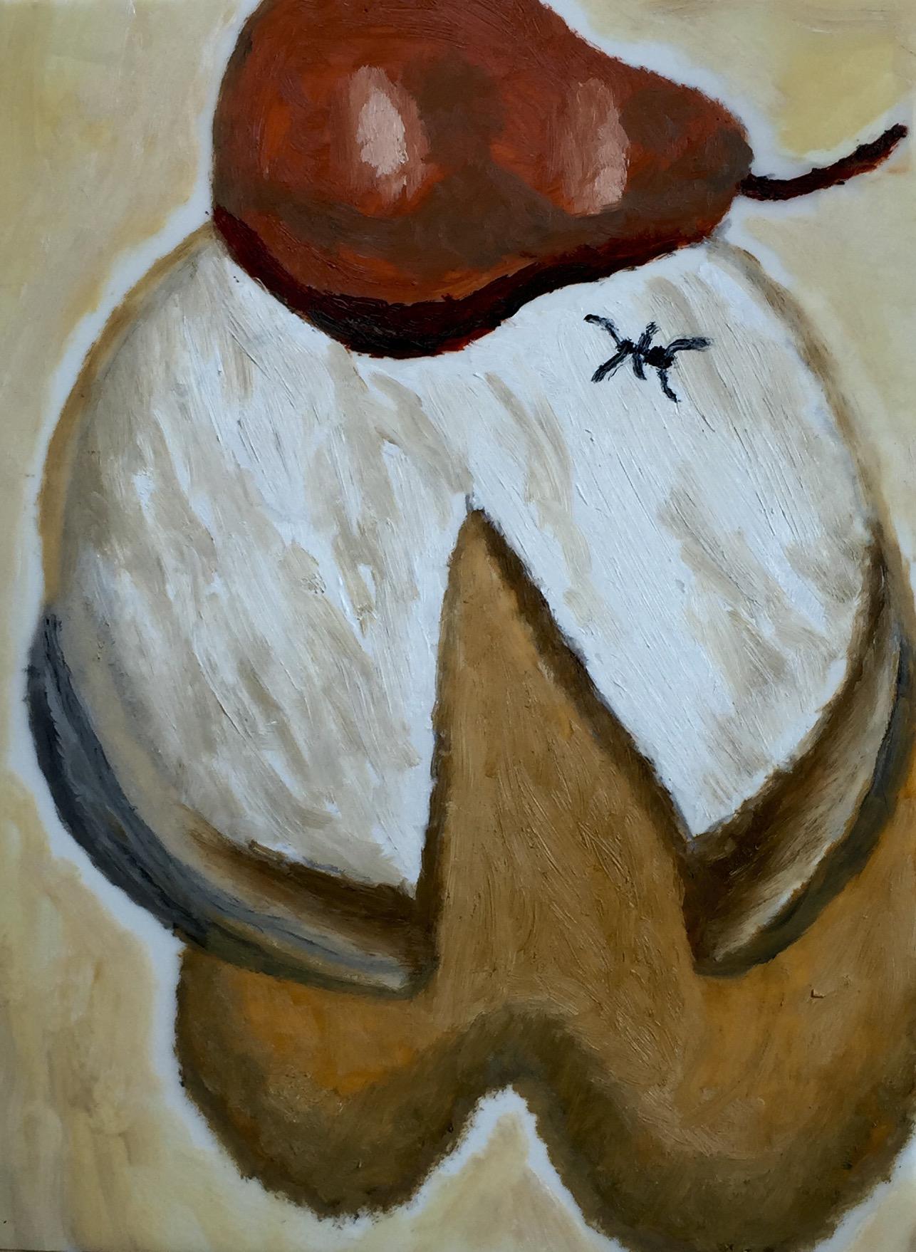 """Debugged"" Oil on Mylar 12x9"