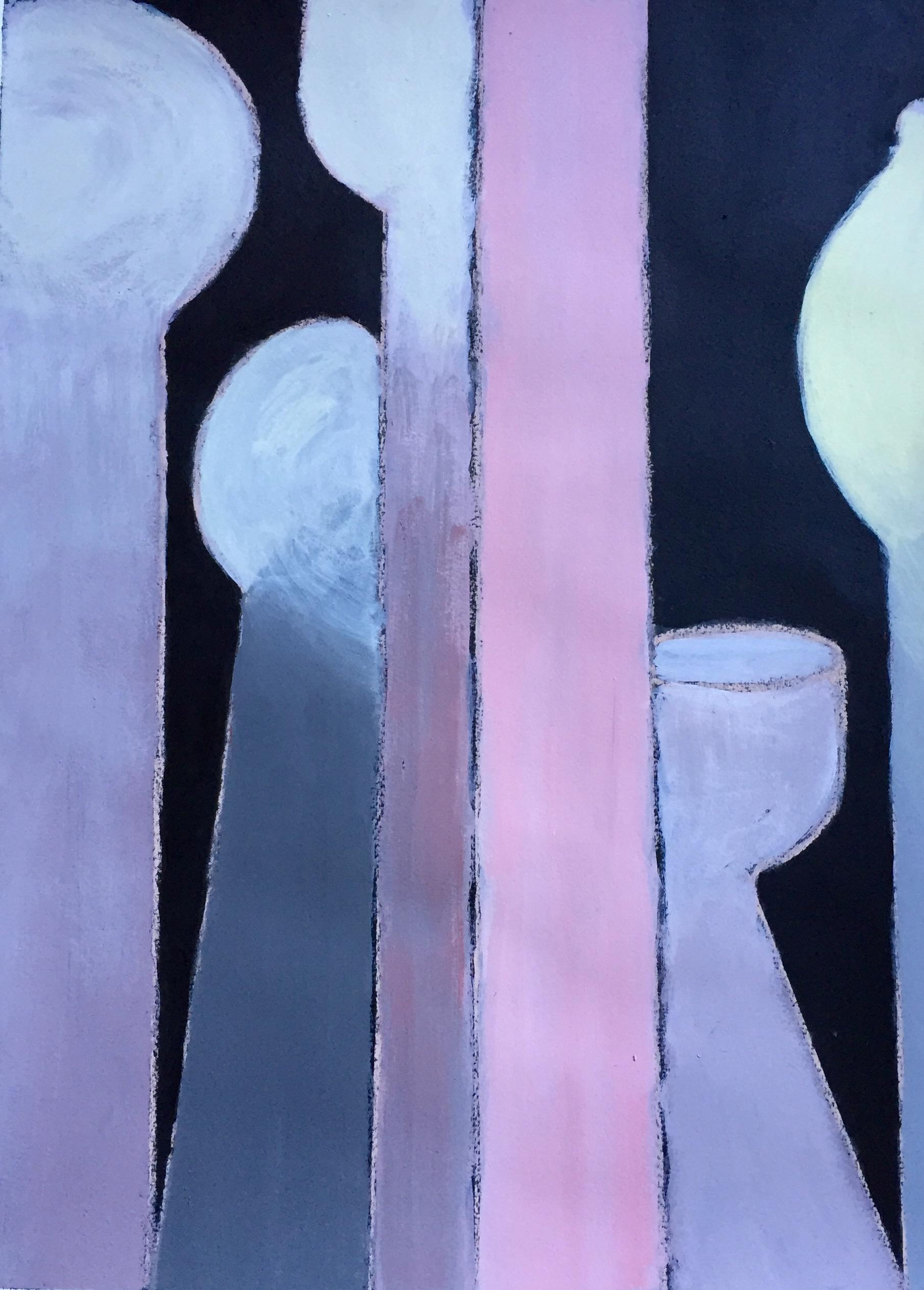 """Euclid's Heart"" Acrylic 24x18"