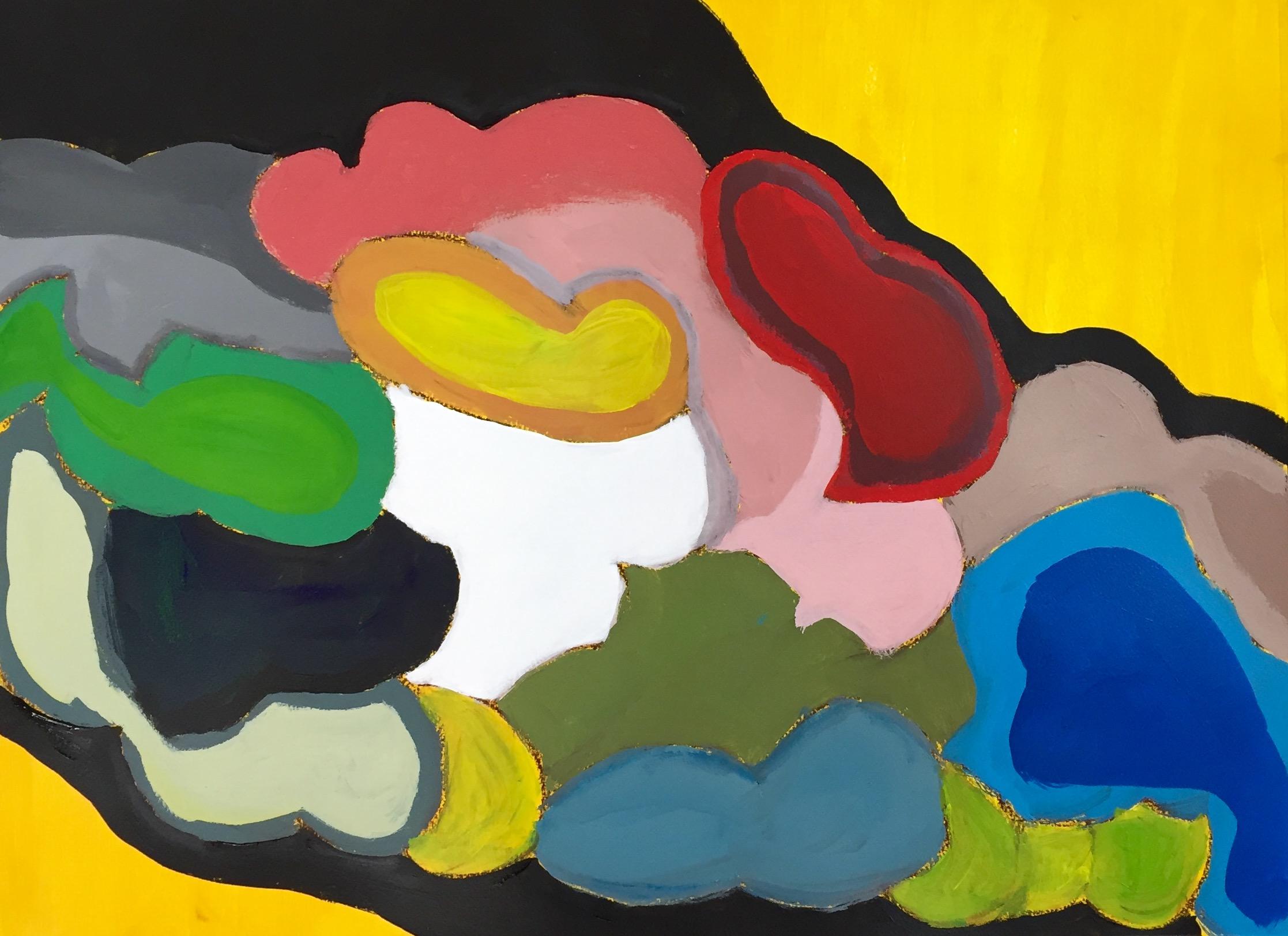 """Wind Storm"" Acrylic 24x18"