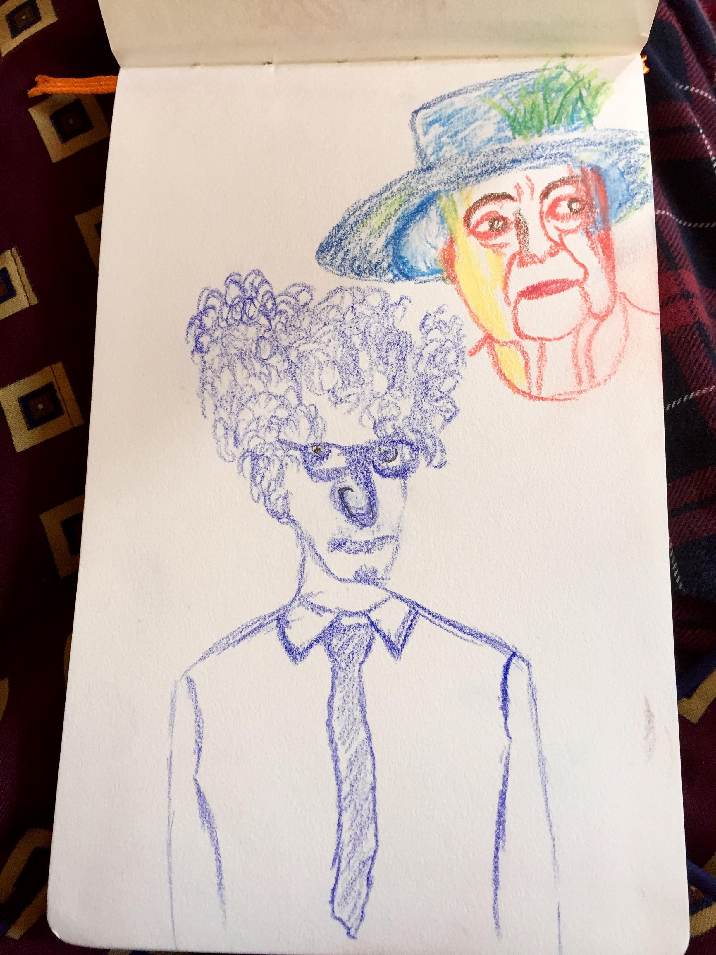 """Keian and Lillibet"" Pen & Pencil"