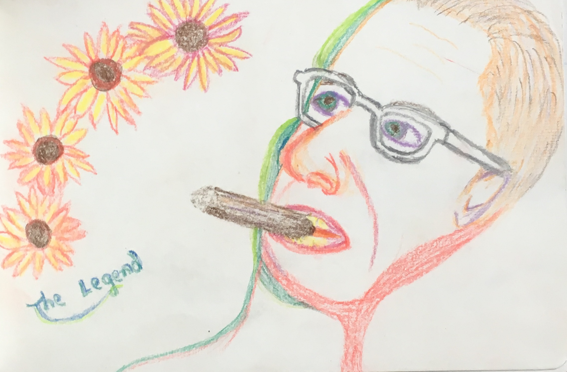 """""""The Legend"""" Pencil & Pastel"""