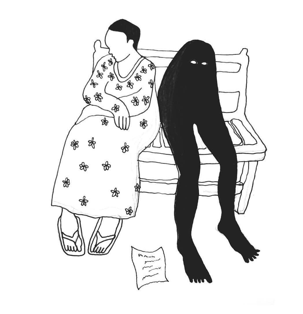 Le Mouchoir - La Mouche Noire _ Nathalie Jolivert.jpg