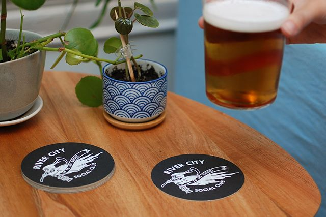A set of coasters ships with every order #rivercitysocialclubrva #richmondva #beer #rva