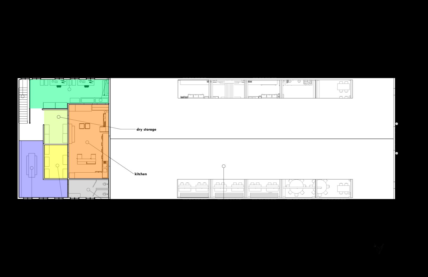 second floor (kitchen)