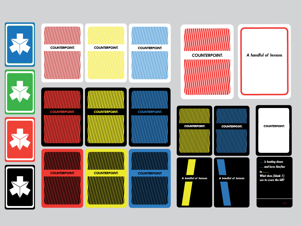 Card design iterations